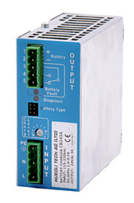 HT-C123A - Smart 12 VDC/3A Battery Charger with Charge Current Limiting